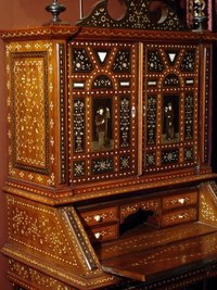 Walnut secretary