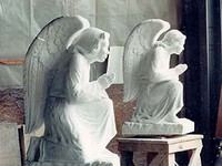 Stone Carved Angels
